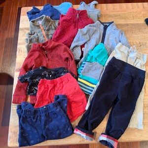 Huge Lot 24m/2T Boys Clothing!!